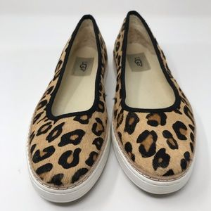 Ugg Leopard slippers 7.5 retail $200
